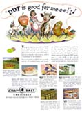 """DDT is good for me-e-e"" from 1947 USDA Bulletin"