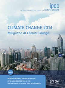IPCC Climate Change 2014: Climate Change Mitigation Report Cover