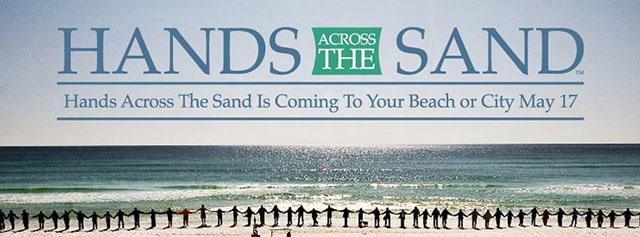 Hands Across The Sand Banner