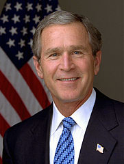 President George W. Bush - Photo by Eric Draper, 2003