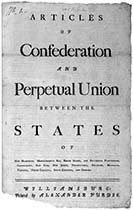 Articles of Confederation - Image: U.S. Library of Congress