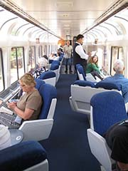 Amtrak Coast Starlight Observation Car - Photo: jshyun