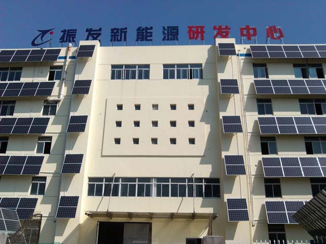 Solar Panels on Multi-Family Housing in Wuxi, China - Photo: Zhenfa New Energy