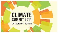 U.N. Climate Summit 2014 Logo
