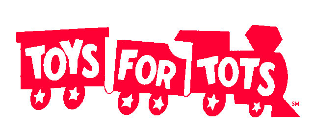 Toys for Tots Train Logo