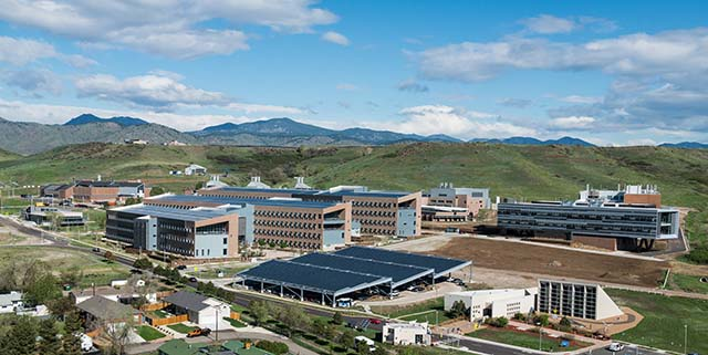 U.S. National Renewable Energy Laboratory South Table Mountain Campus, Golden, CO - Photo: Dennis Schroeder / NREL