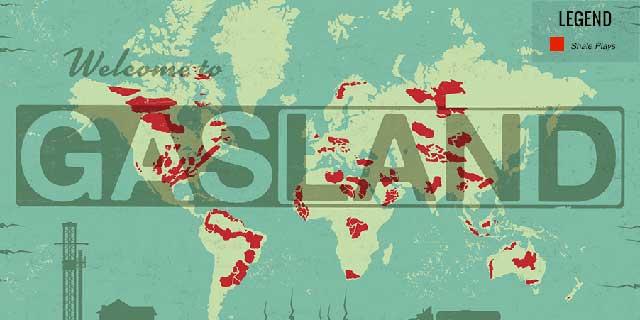 Welcome to Gasland Map - Image: Gasland the Movie