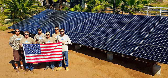 Veteran Co-Owned Solar Company Based in San Diego, CA - Photo Semper Solaris