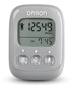 Omron Alvita Ultimate Pedometer in Grey