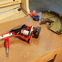 Weed Whacker Repair - New Motor