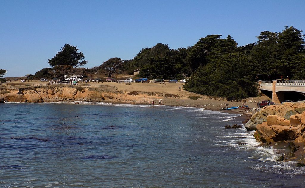 Leffingwell Landing State Park and Beach in Cambria, CA