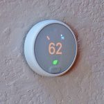 New Smart Thermostat Installed