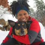 Majora Carter and Her Dog Xena