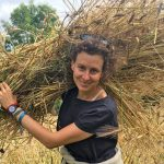 Severine von Tscharner Fleming Carrying Harvested Grass
