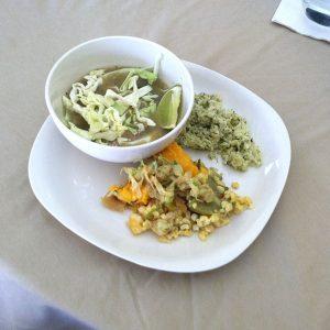 Lunch at Chumash Kitchen July 2018