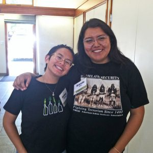 Two Volunteer Cooks at Chumash Kitchen July 2018