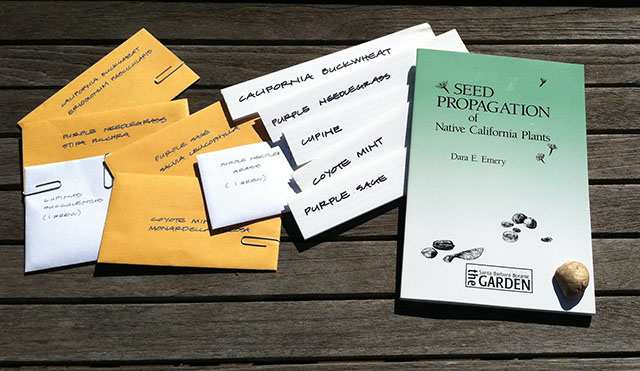 Native Plant Seed Packets, Plant Markers, and Seed Propagation Book