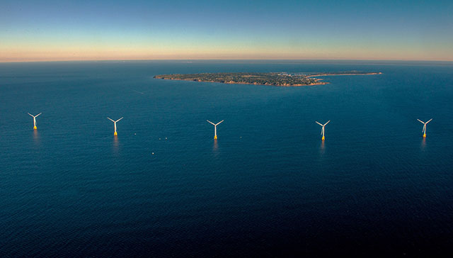 Offshore Wind Farm in Ocean Waters off Block Island, Rhode Island