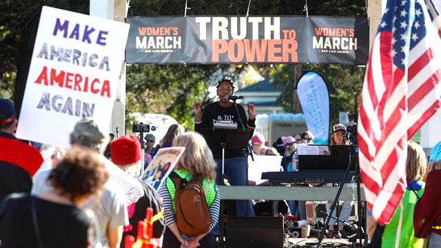 Dr. Leola Dublin Macmillan - Women's March in San Luis Obispo, CA - January 19, 2019