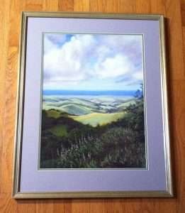 View from the Summit by Karen Fedderson Print and Frame