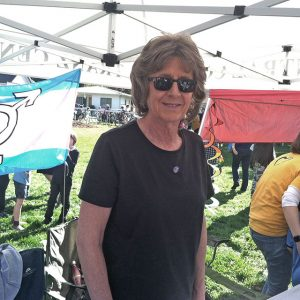 Volunteer at Tranz Central Coast Booth - Women's March San Luis Obispo, CA - January 19, 2019