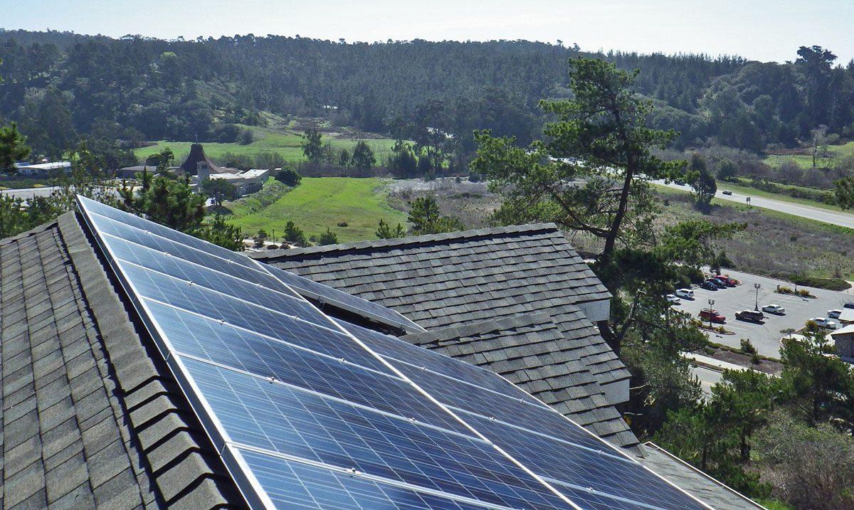 12 of 16 Rooftop Solar Panels of Original Installation