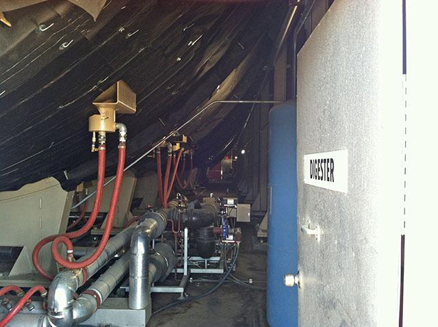 Anaeraboic Digester at San Luis Obispo Kompogas Plant
