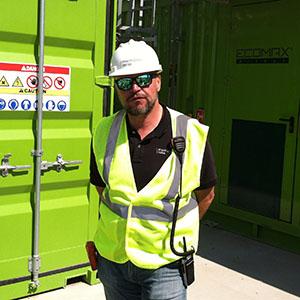 Thomas Gratz U.S. Sales Manager HZI at San Luis Obispo Kompogas Plant