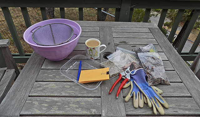 Native Plant Seed Cleaning Equipment