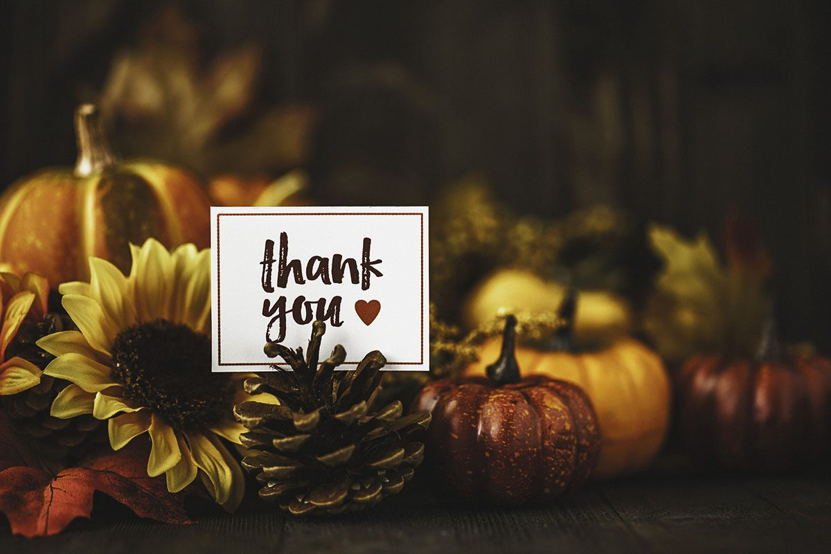 Thanksgiving – Gratitude