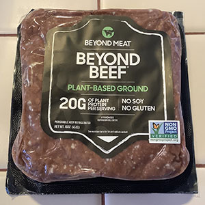 Beyond Beef Plant-Based Ground Package