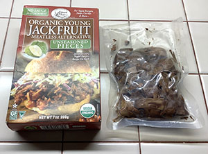 Edward and Sons Jackfruit Meatless Alternative Package and Pouch