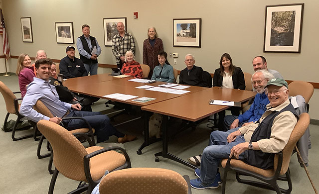 Cambria Forest Committee Meeting Attendees - January 8, 2020