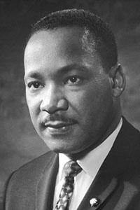 Dr. Martin Luther King, Jr. Portrait - 1964