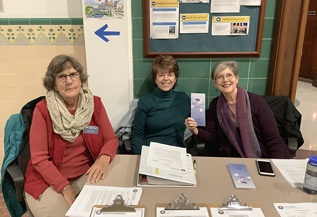 League of Women Voters at San Luis Obispo City Council Meeting - December 3, 2019