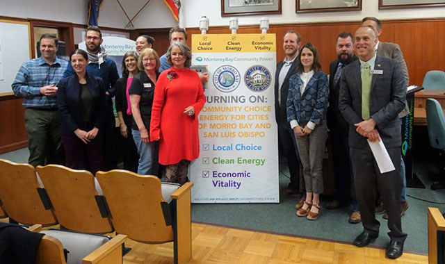 Community Choice Energy Flip the Switch Event in San Luis Obispo City Hall