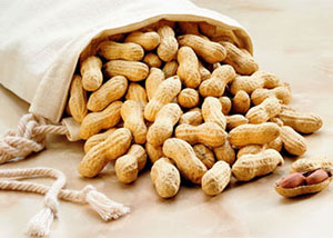 Peanuts in Shells in a Bag